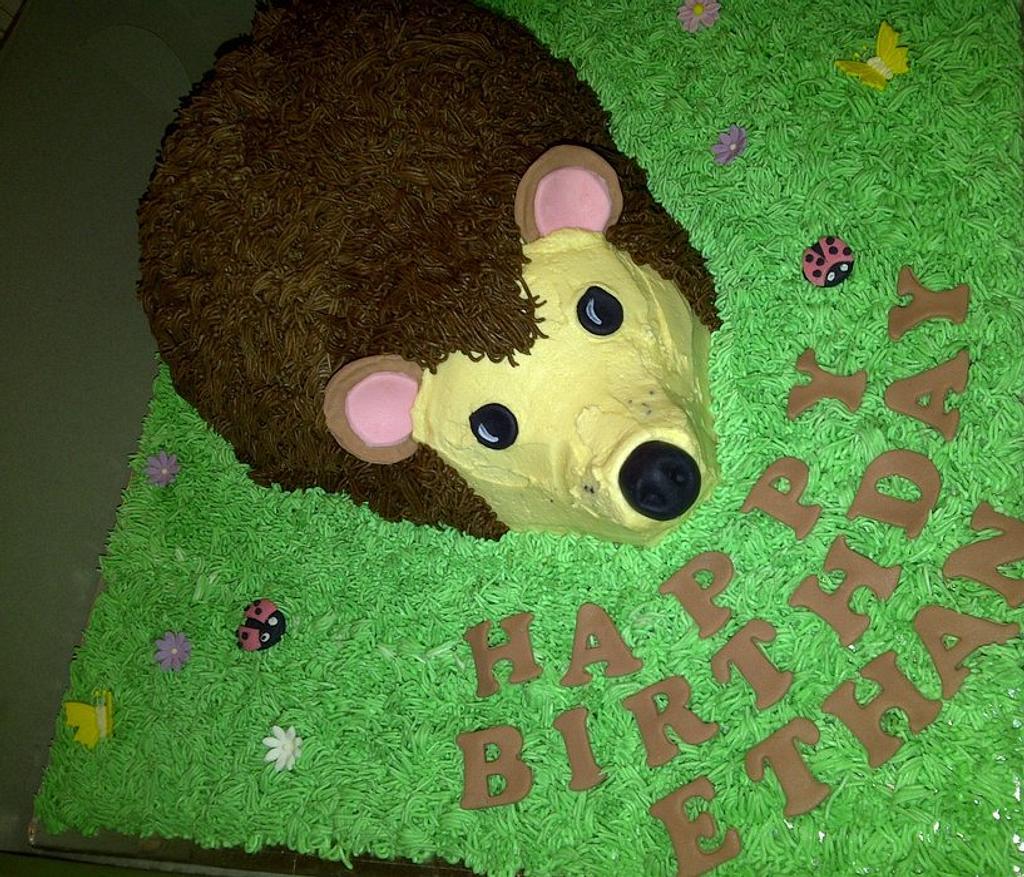 Hedgehog Cake by Lisag