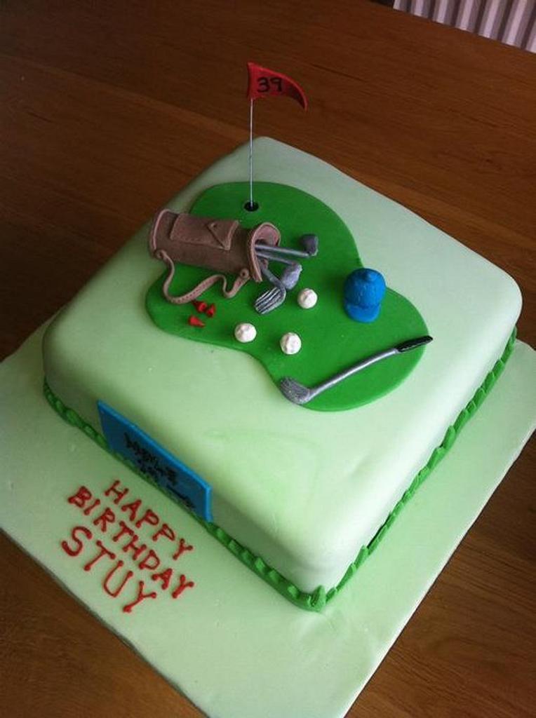Golf Cake by Sarah Al-Masrey