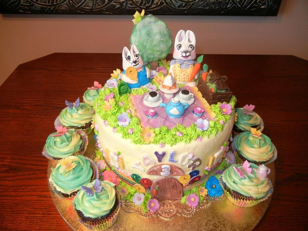 Max & Ruby Fantasy Picnic by Fun Fiesta Cakes