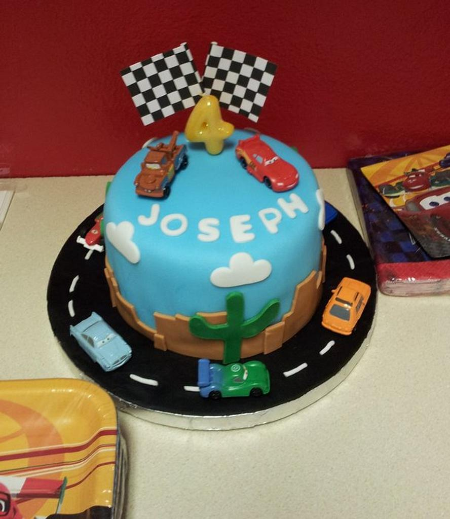 Cars Themed Birthday Party by Jennie