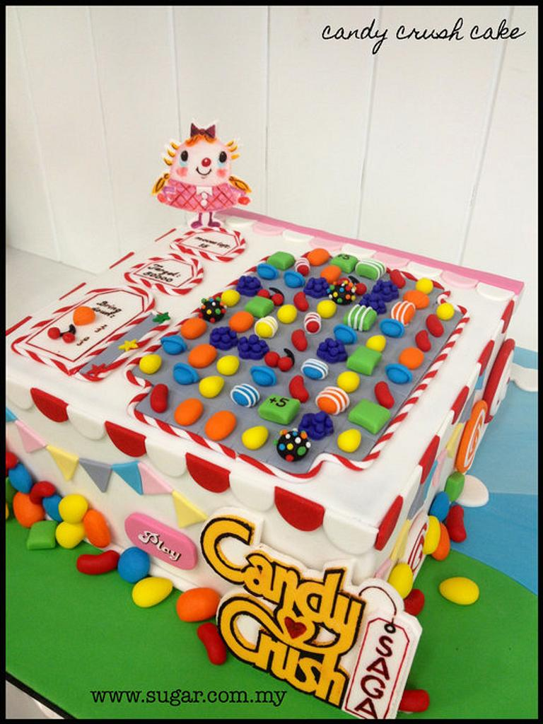 Candy Crush Cake by weennee