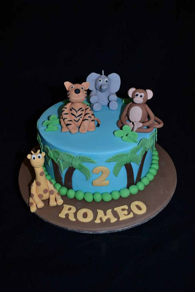 jungle cake by Sue Ghabach