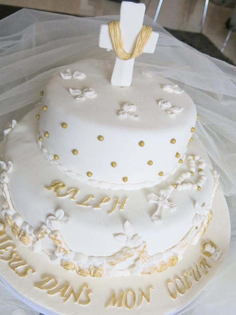 Communion cake. by Sugar&Spice by NA