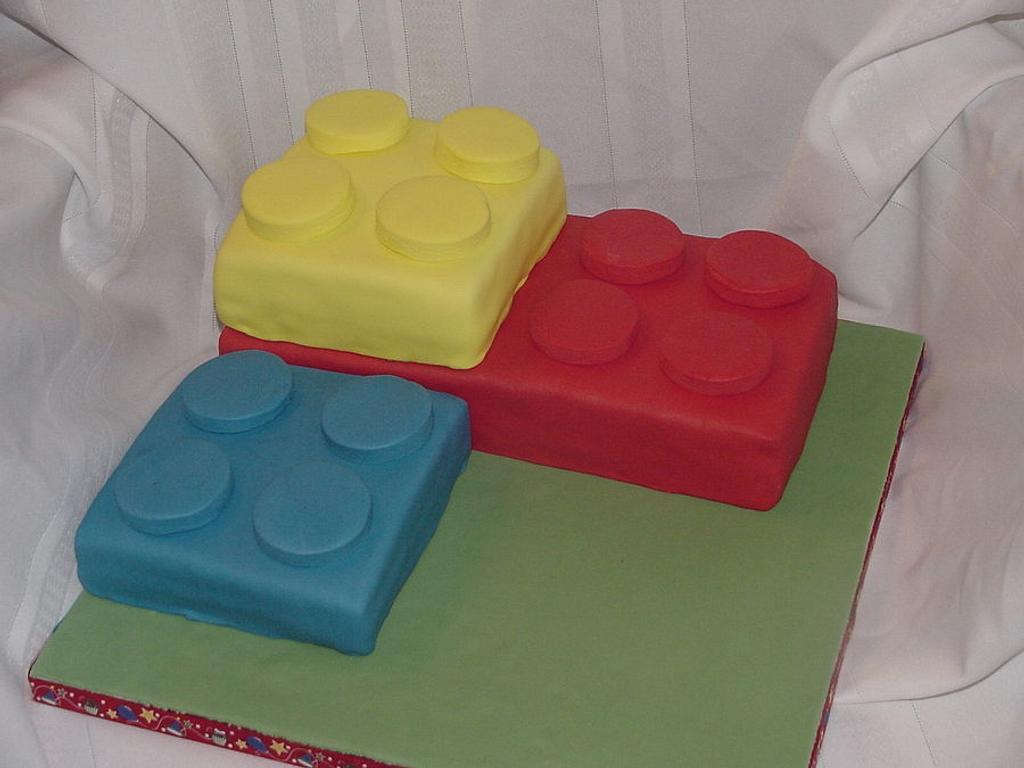 Lego's Cake by horsecountrycakes