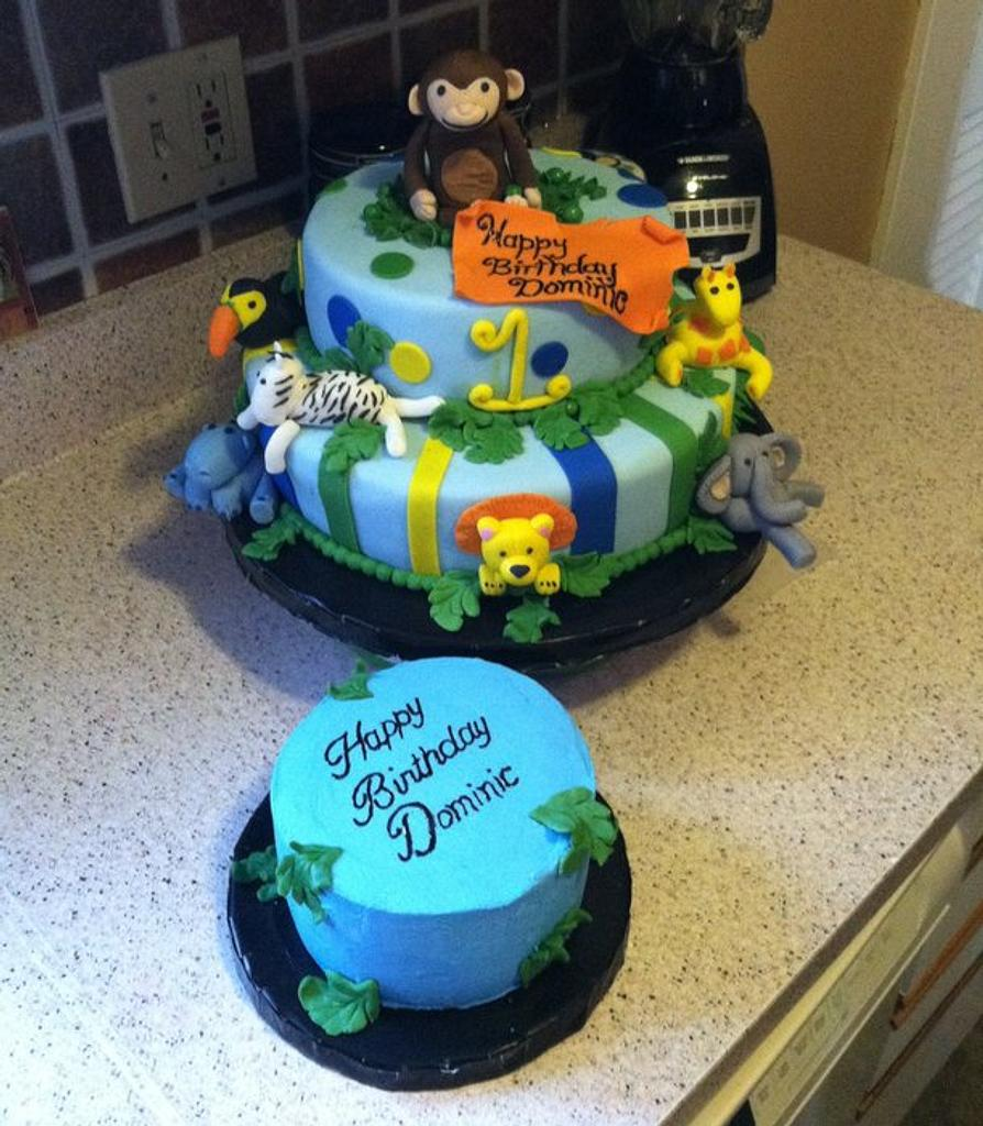 Dominic's 1st by AnnieCakes