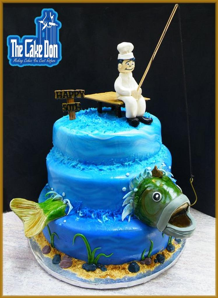 """The """"CATCH OF THE DAY"""" Cake by TheCakeDon"""