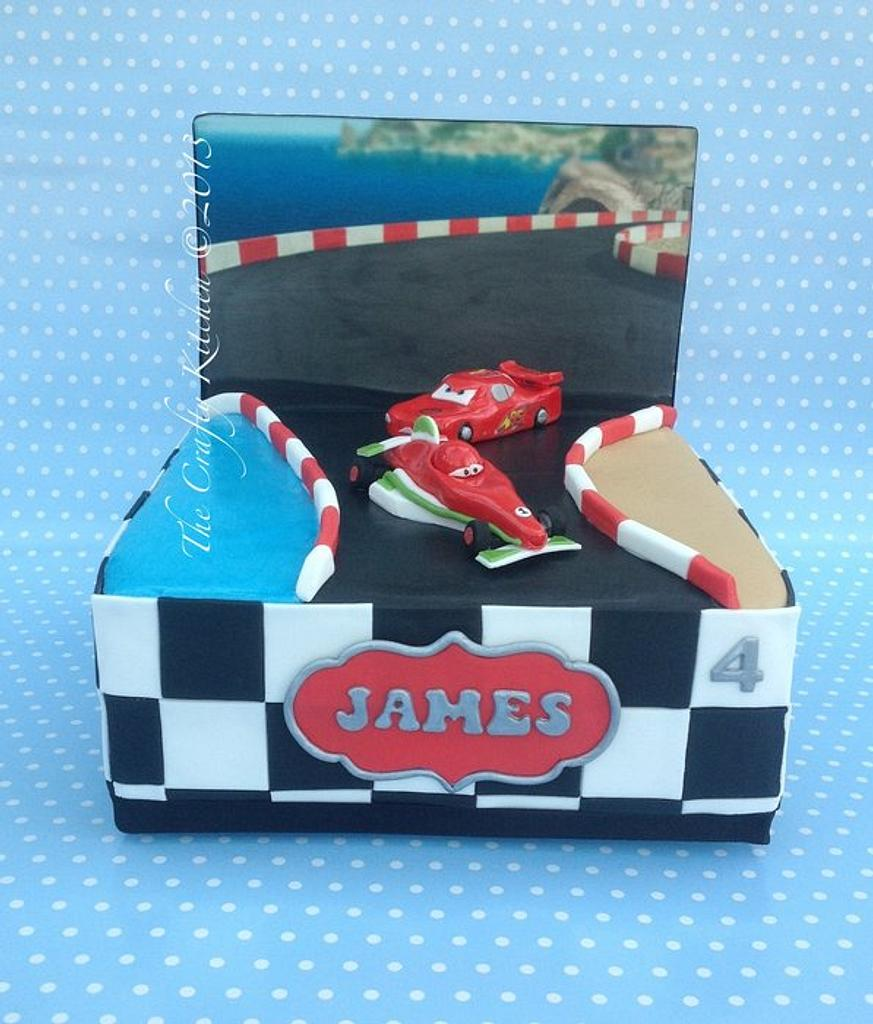Cars 2, Lightening and Francesco by The Crafty Kitchen - Sarah Garland