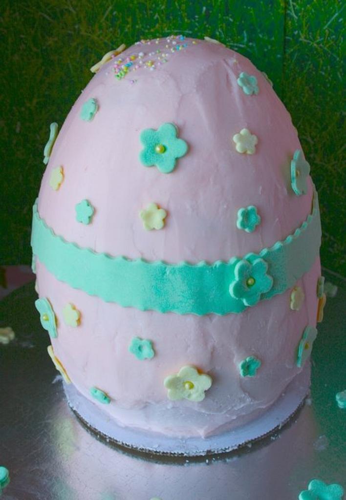 Easter Egg Cake by Bridgette