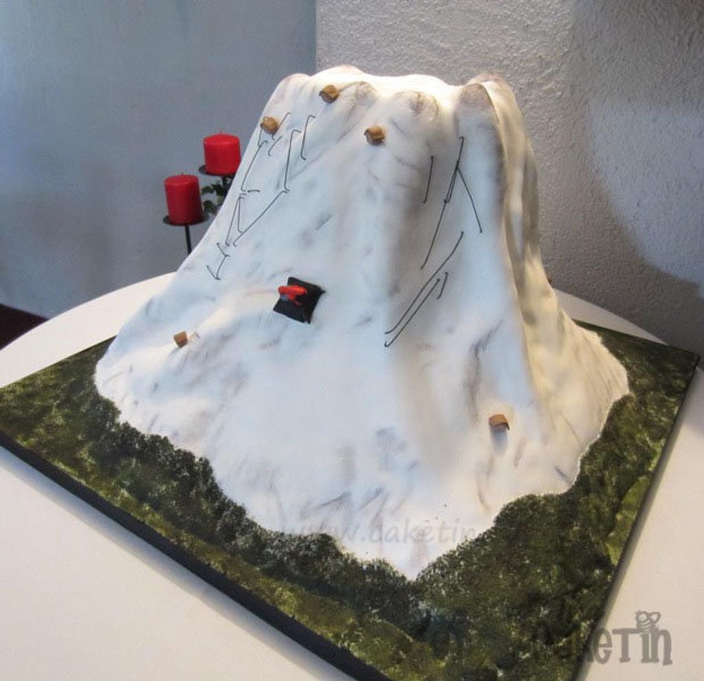 Mt Ruapehu, New Zealand by The Cake Tin