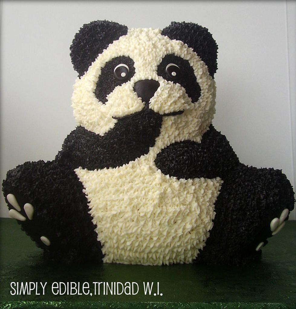 Panda Bear Cake by Shelly-Anne