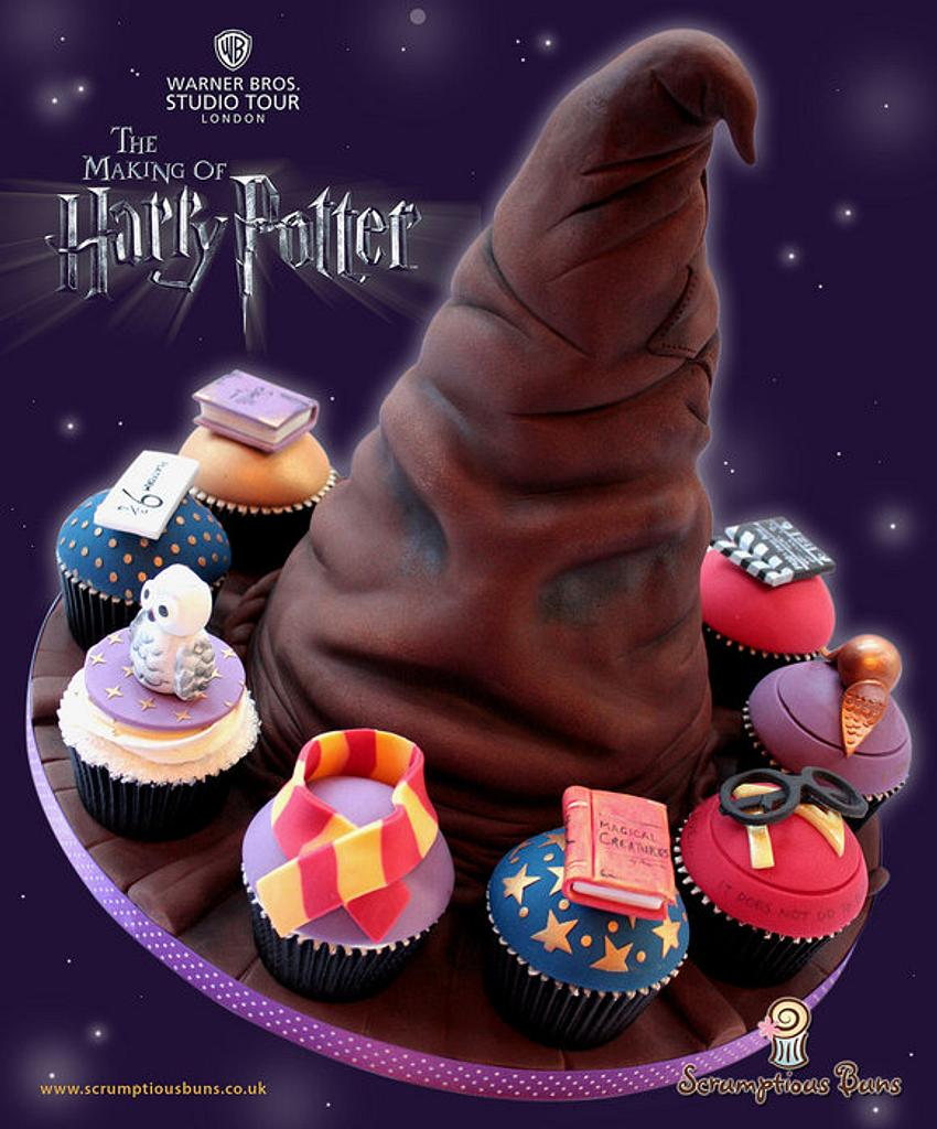 Sorting Hat from Harry Potter by Scrumptious Buns