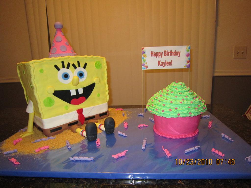 Spongebob Cake by Michelle
