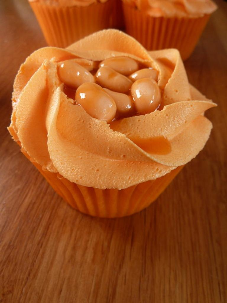 The Baked Bean Cupcake! by Sian