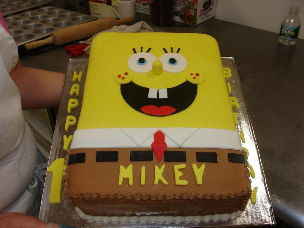 SpongeBob by Karen Hearty