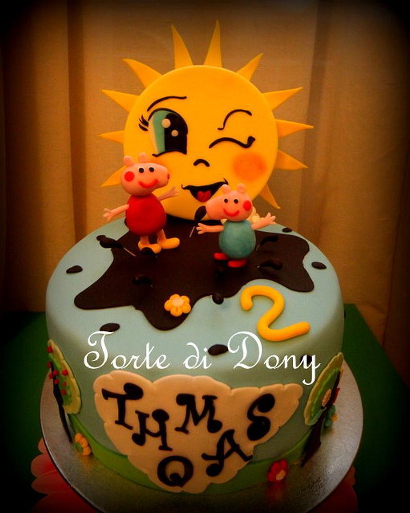 Peppa Pig Cake by Donatella Bussacchetti