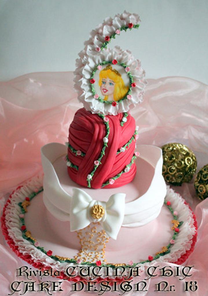 Princess Aurore by ARISTOCRATICAKES - cake design by Dora Luca