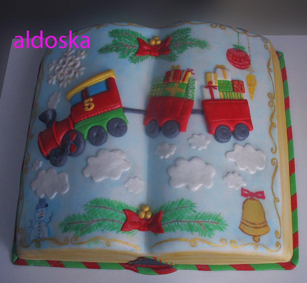 Christmas book by Alena