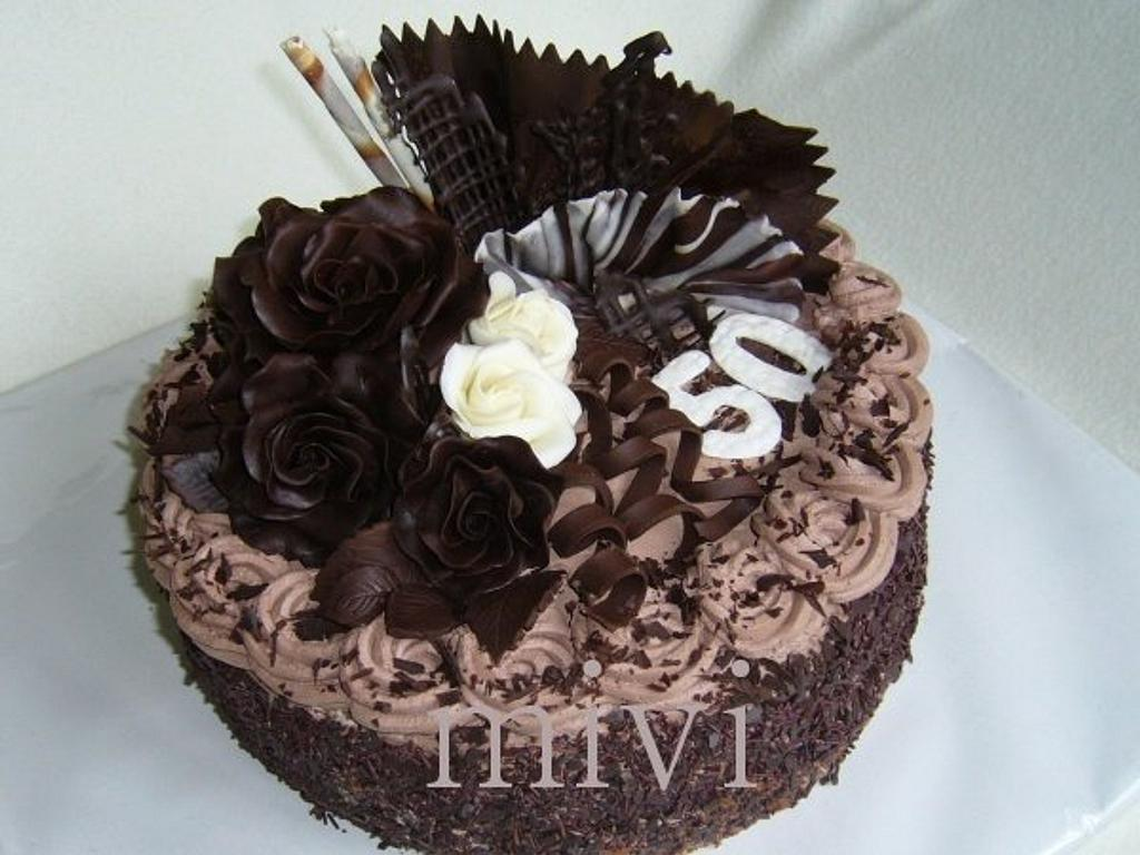 chocolate cake by mivi