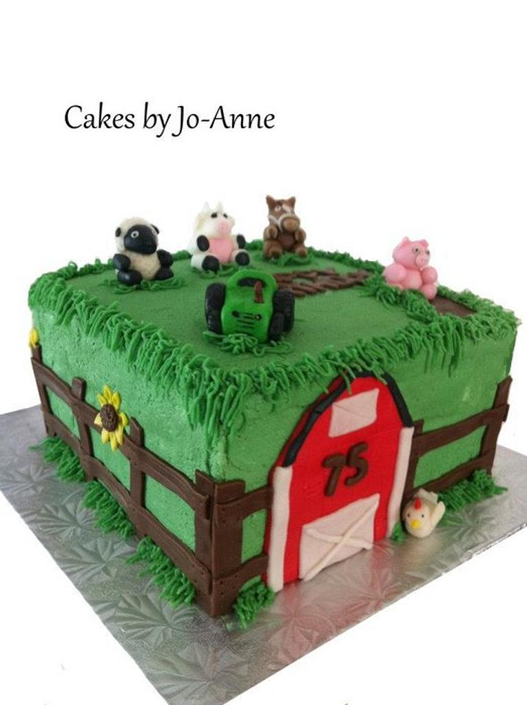 75 Years on the Farm by Cakes by Jo-Anne