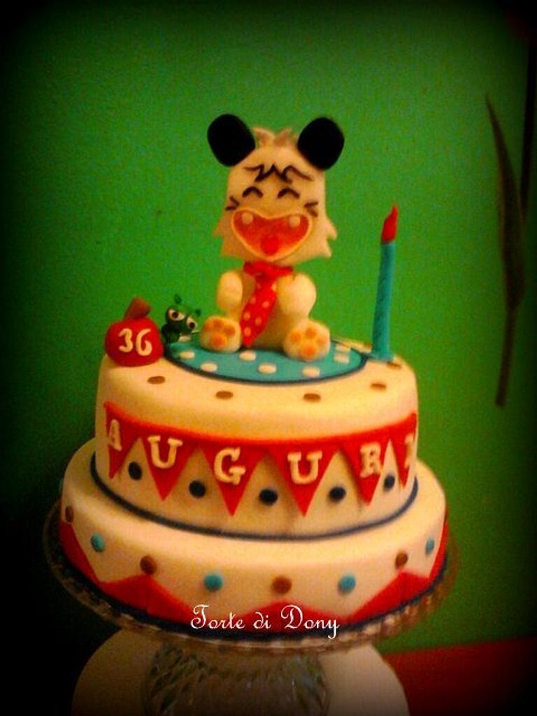 Spanke cake by Donatella Bussacchetti