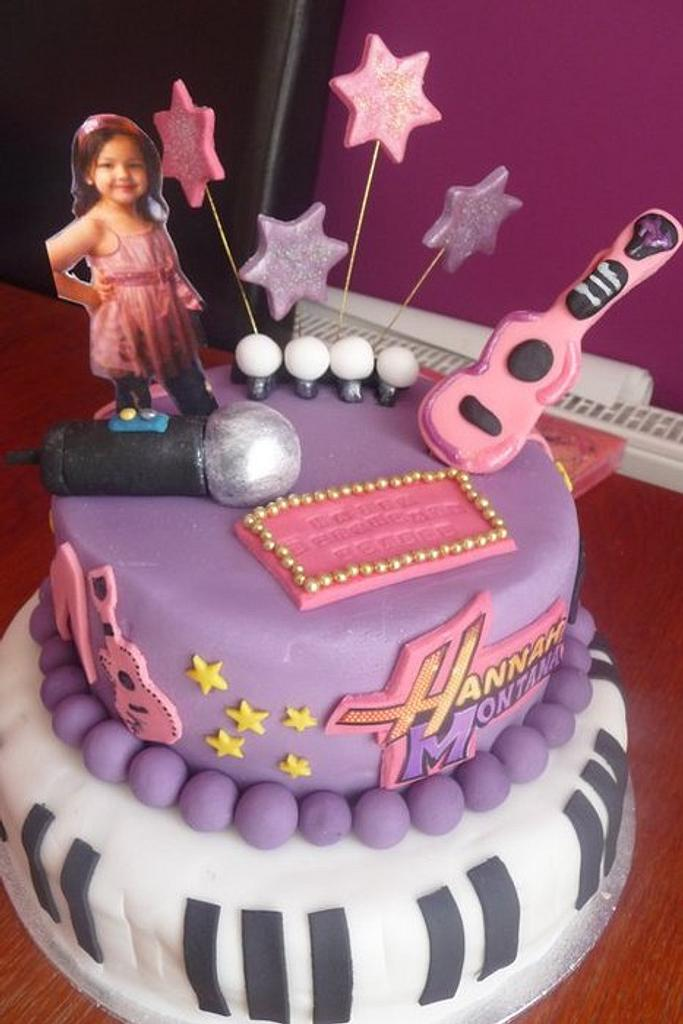 Hannah Montana Cake by CupNcakesbyivy