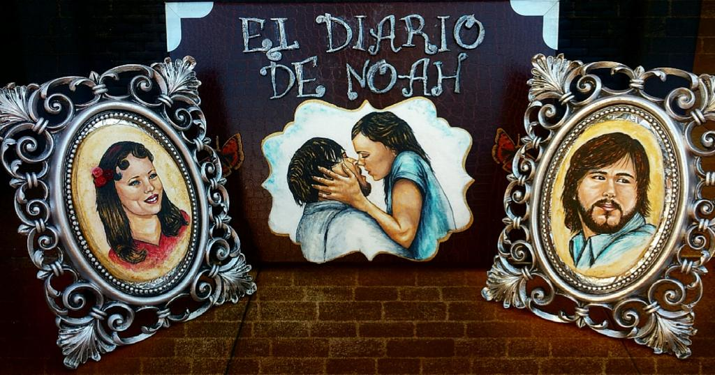 """""""The Notebook """" from """"Primavera de libro """" collaboration  by los dulces de Kolo"""