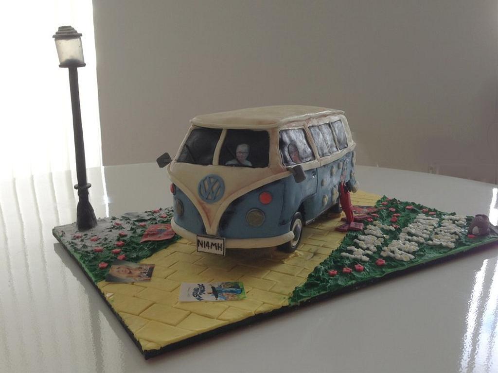 VW Camper Van by BeatBoutiqueBakery