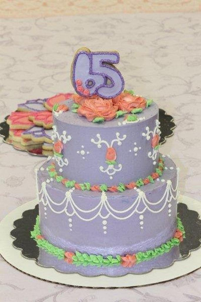 65th Birthday Cake by 3DSweets