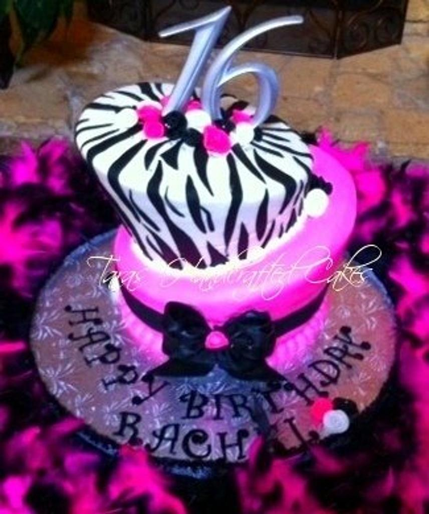 sweet 16 by Taras Handcrafted Cakes