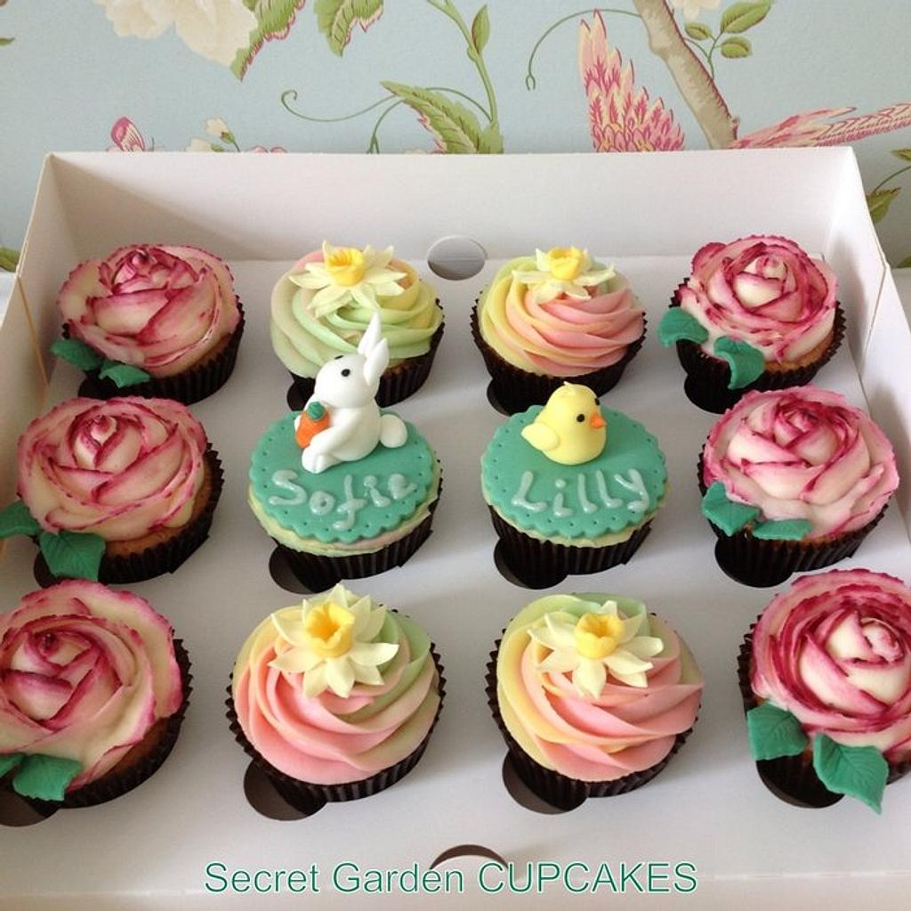 Easter Cupcakes by Siyana Sibson