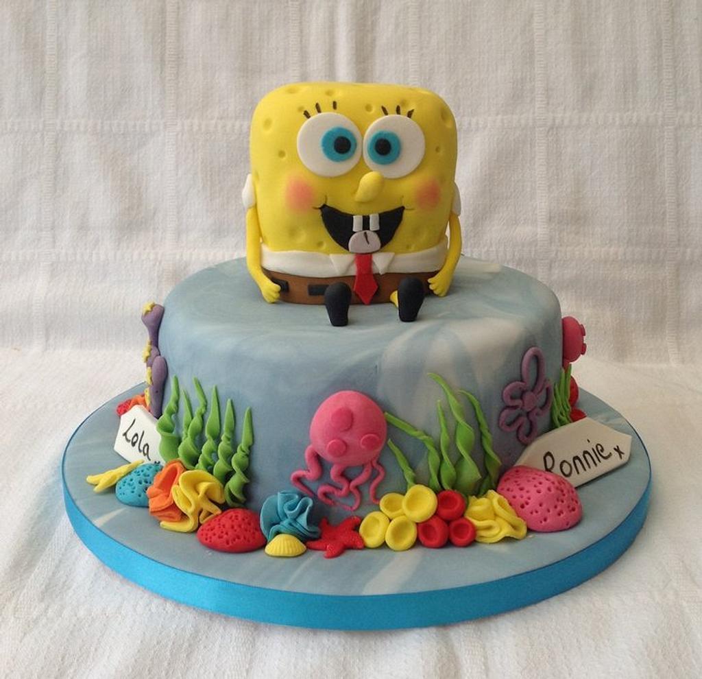 sponge bob :-) by Keeley Cakes