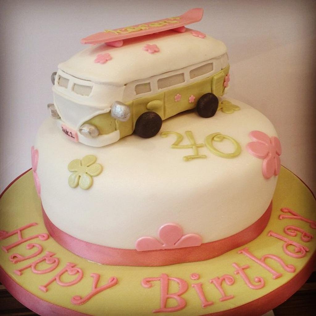Camper Van Cake by Gill Earle