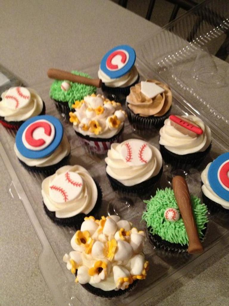 Chicago Cubcakes by Tonya