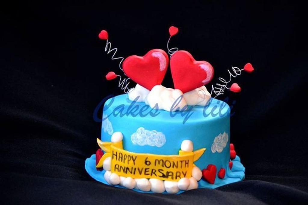 Anniversary cake by Lize van den Heever