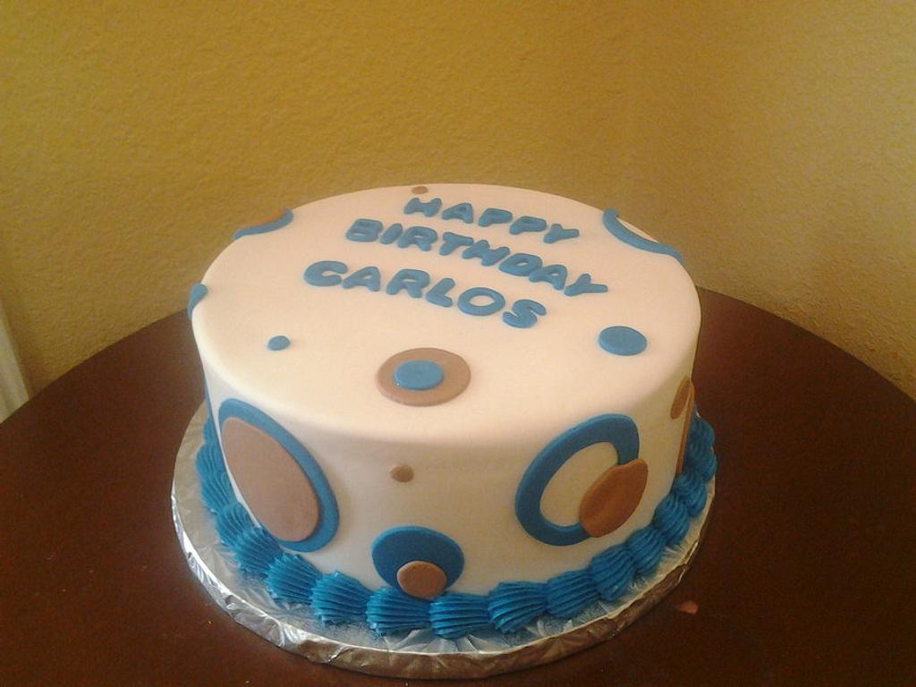Birthday Cake by Rosa
