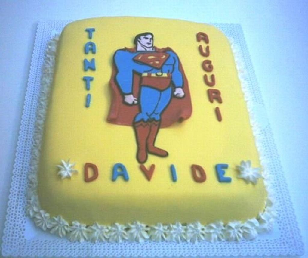 Superman cake! by Filomena