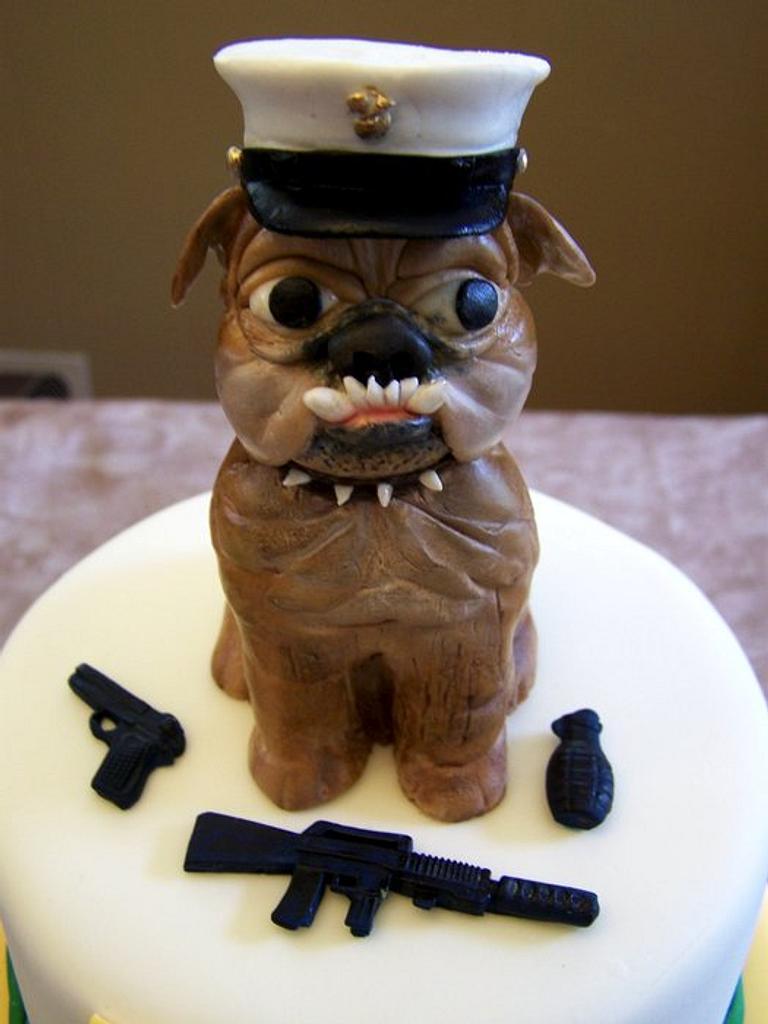 Bulldog Graduation by Theresa