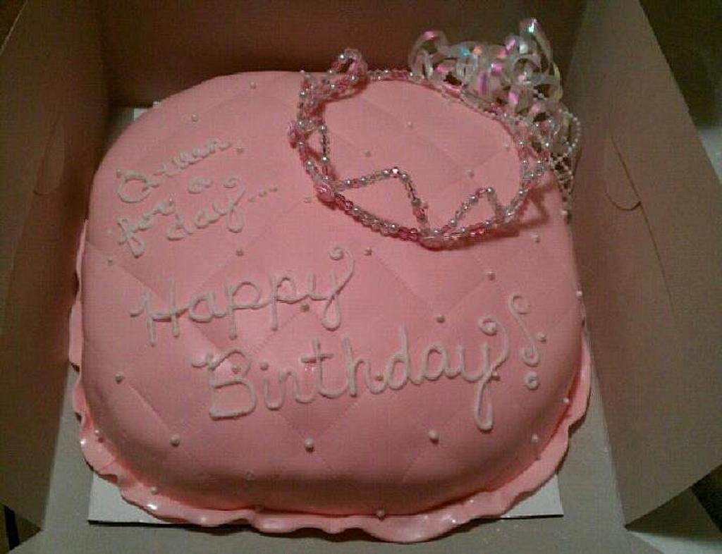 Princess Pillow Cake by Nicole
