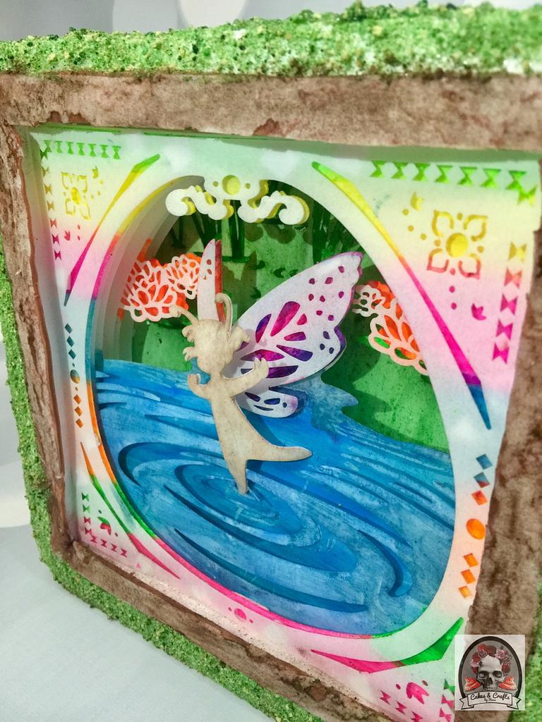 A Fairy Good Memory - Woodland Fairy Collaboration  by Cakes & Crafts by Kass