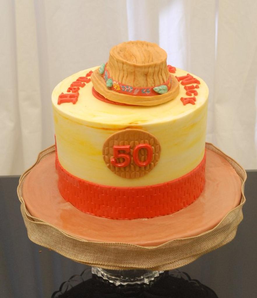 Fedora Hat on a Cake by Sugarpixy