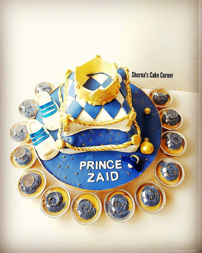 Royal pillow cake  by Shorna's Cake Corner