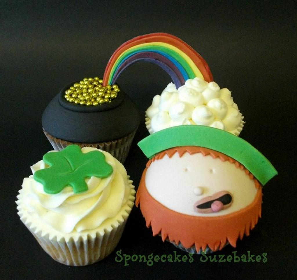 St Paddy's Day Cupcakes! by Spongecakes Suzebakes