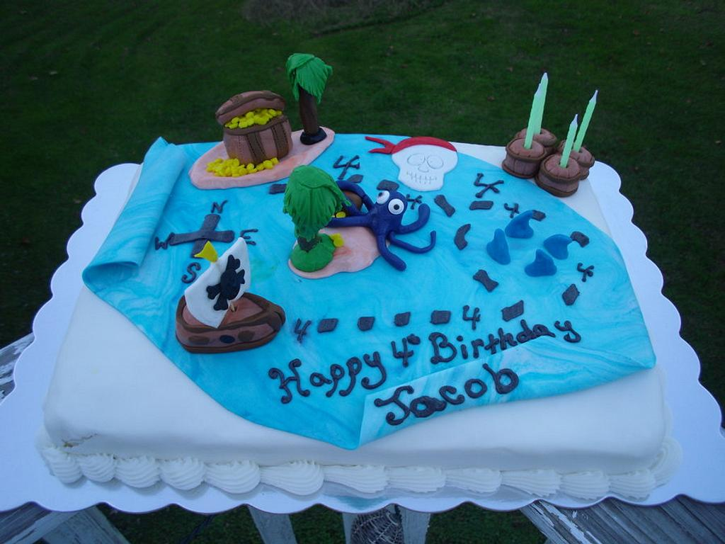 Pirate Ship Cake by JensDesigns