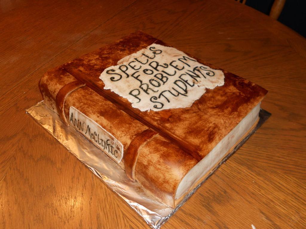 Book Cake by Sara's Cake House