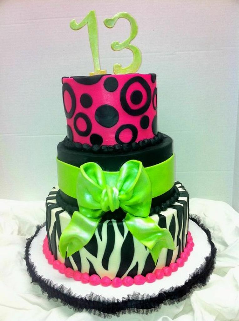 Teen Cake by Meghan Smith