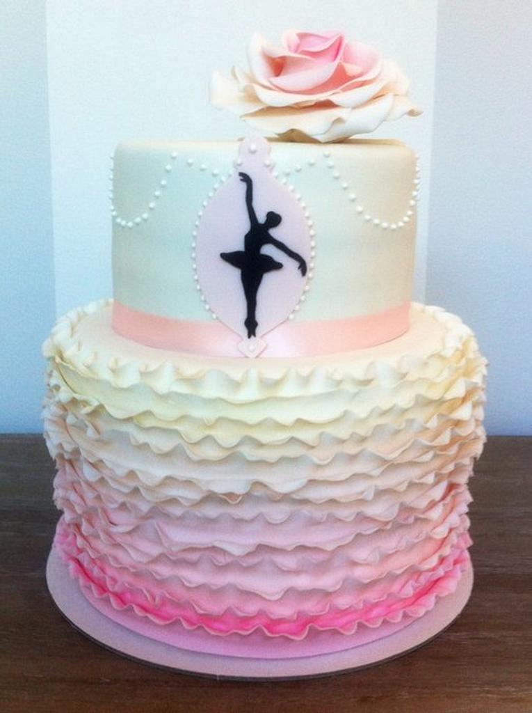 Ballerina cake by Bella's Bakery