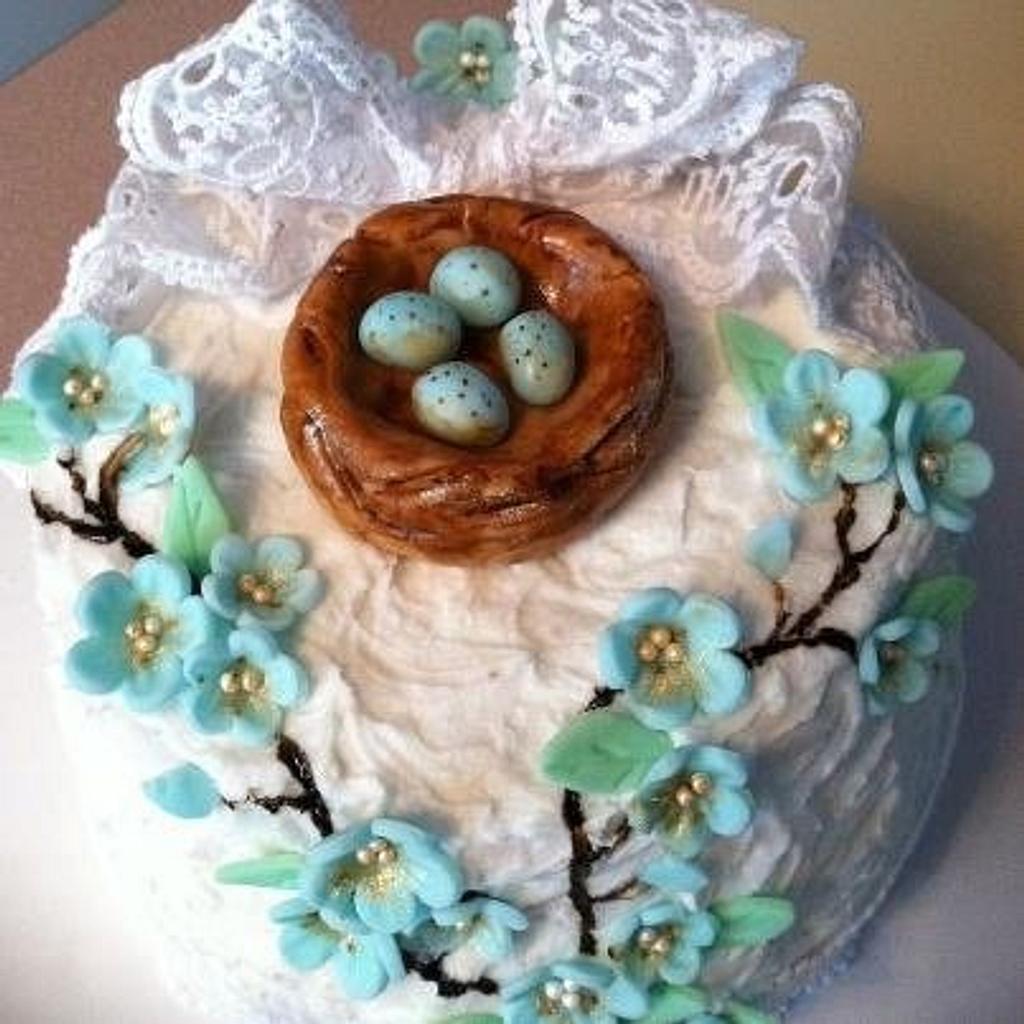 Bird's Nest Cake by Patty Cake's Cakes