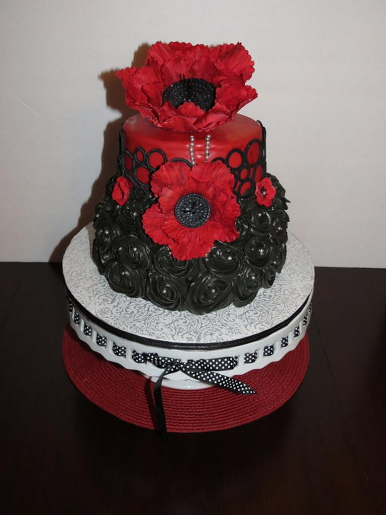 Jillian's Birthday Cake by Nancy T W.