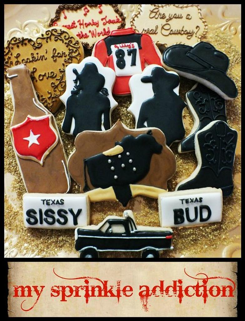 Urban Cowboy Cookie Collection by pattycakeperez