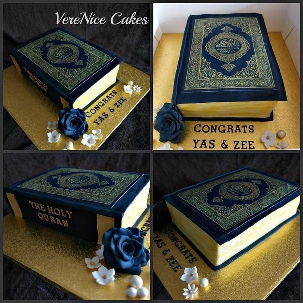 Book Cake (The Holy Quran) by VereNiceCakes